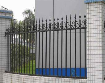 铁艺护栏网铁艺室外围栏,阳台护栏,铁艺防盗窗,铁艺围墙